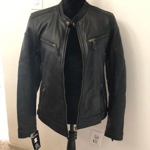 Other - Brand new men's leather jacket from Italy